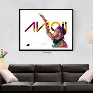 Avicii Poster Can't Tell Where Journey (24x18)